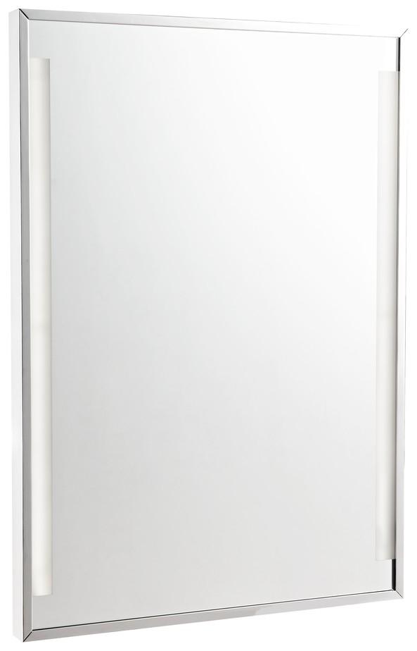 WE251.02.101 Зеркало со светодиодной подсветкой Wertmark RECT