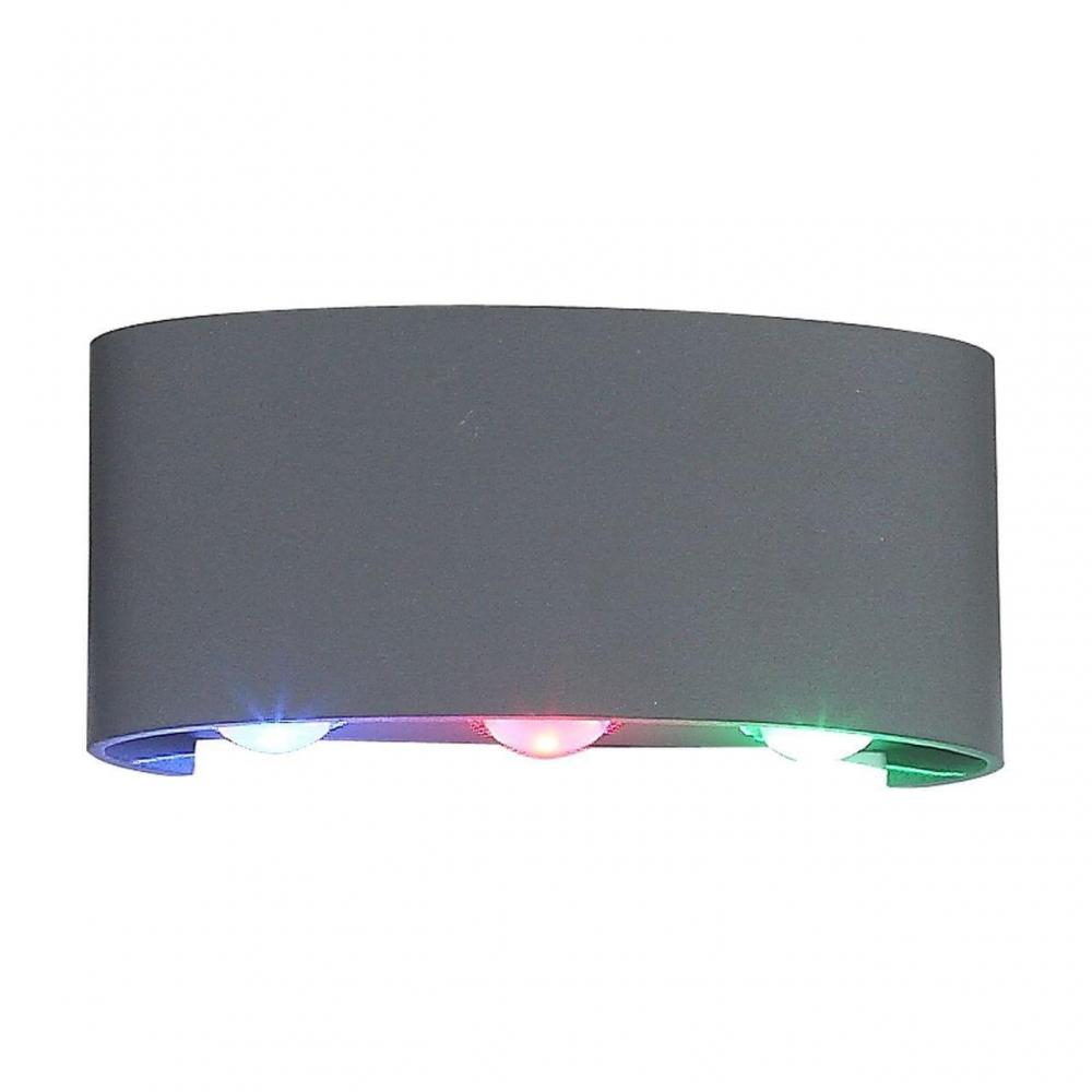 Уличный настенный светодиодный светильник ST Luce Bisello SL089.711.06
