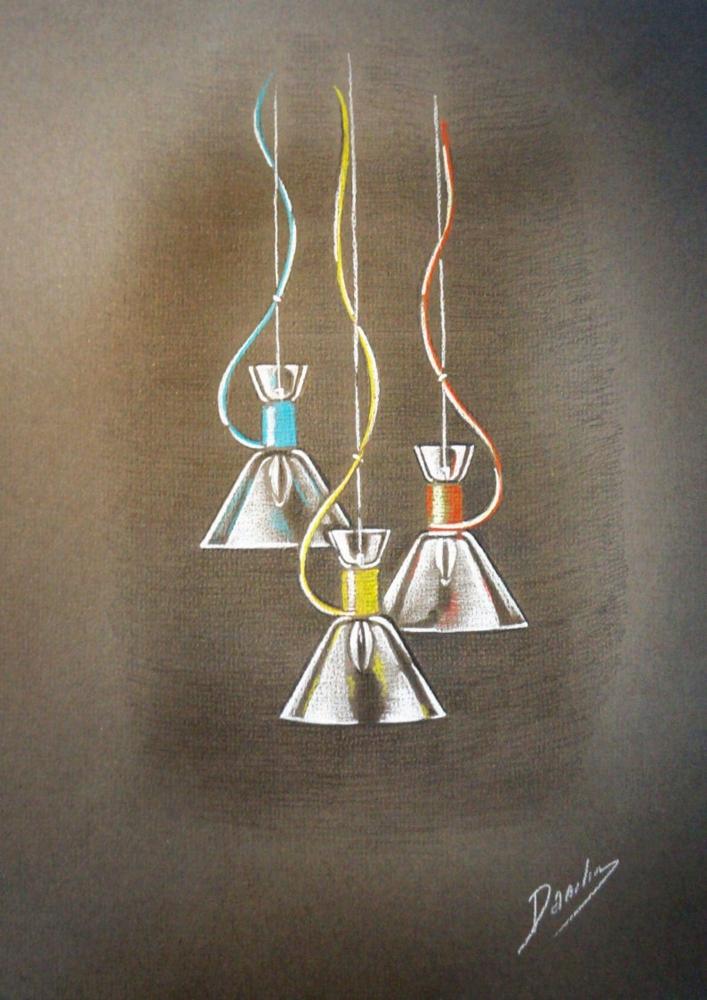 Подвесной светильник Maytoni California P536PL-01R