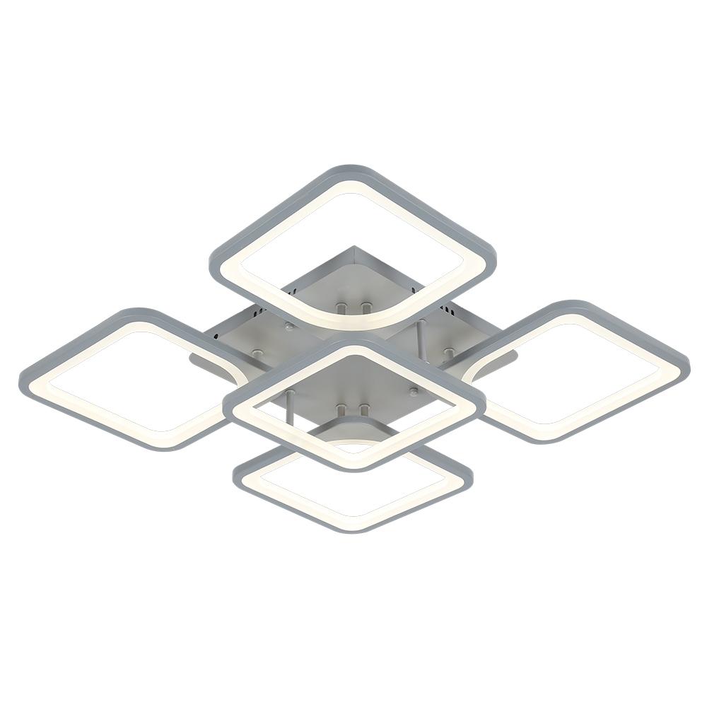 1537/4+1 GRY Потолочная светодиодная люстра с пультом д/у Profit Light