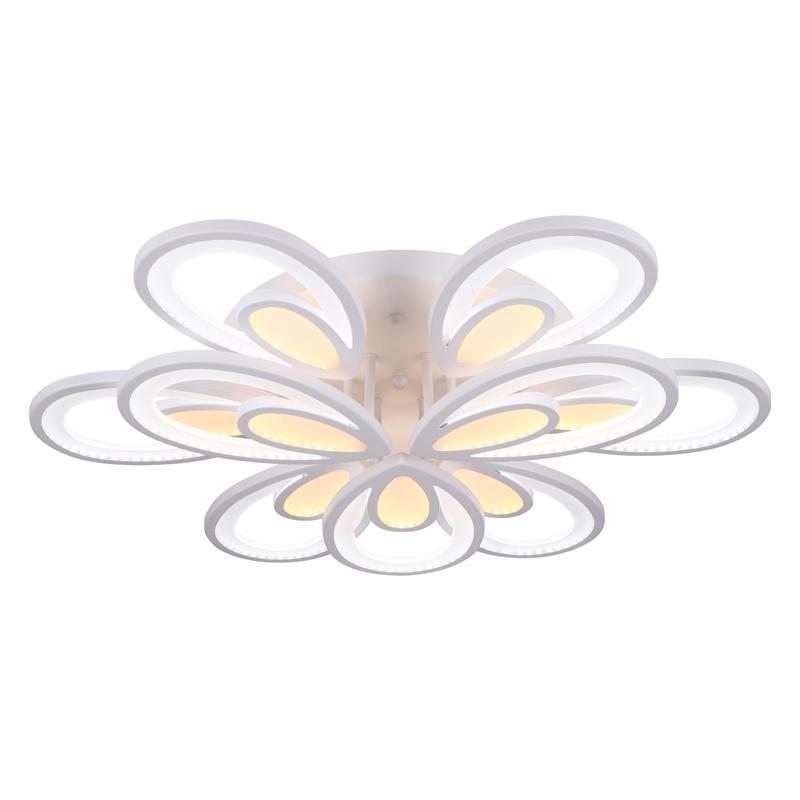 1507/6+3 WHT Потолочная светодиодная люстра с пультом д/у Profit Light