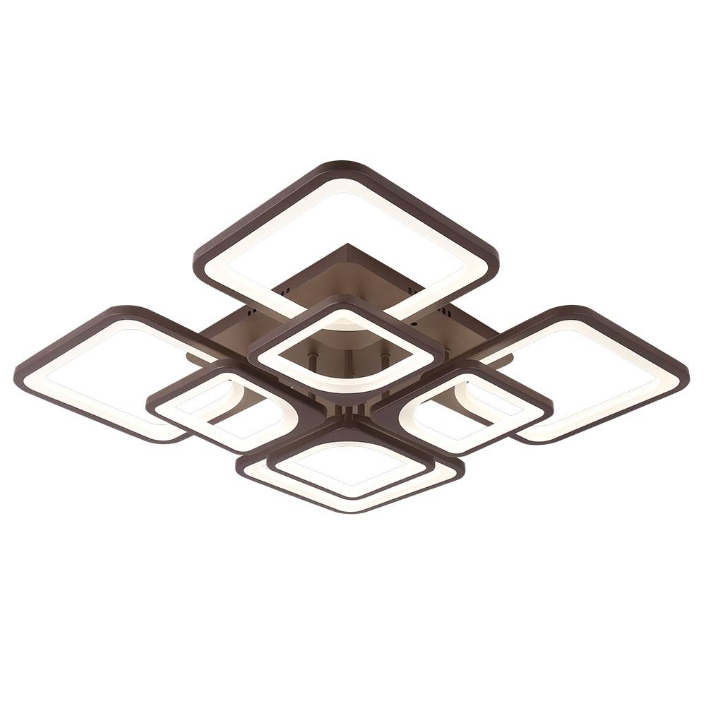 1537/4+4 COF Потолочная светодиодная люстра с пультом д/у Profit Light