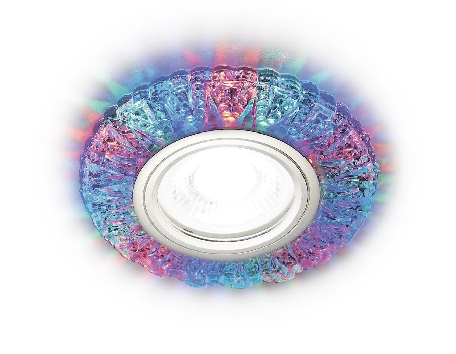 Встраиваемый светодиодный светильник Ambrella light Led S310 PR/RG