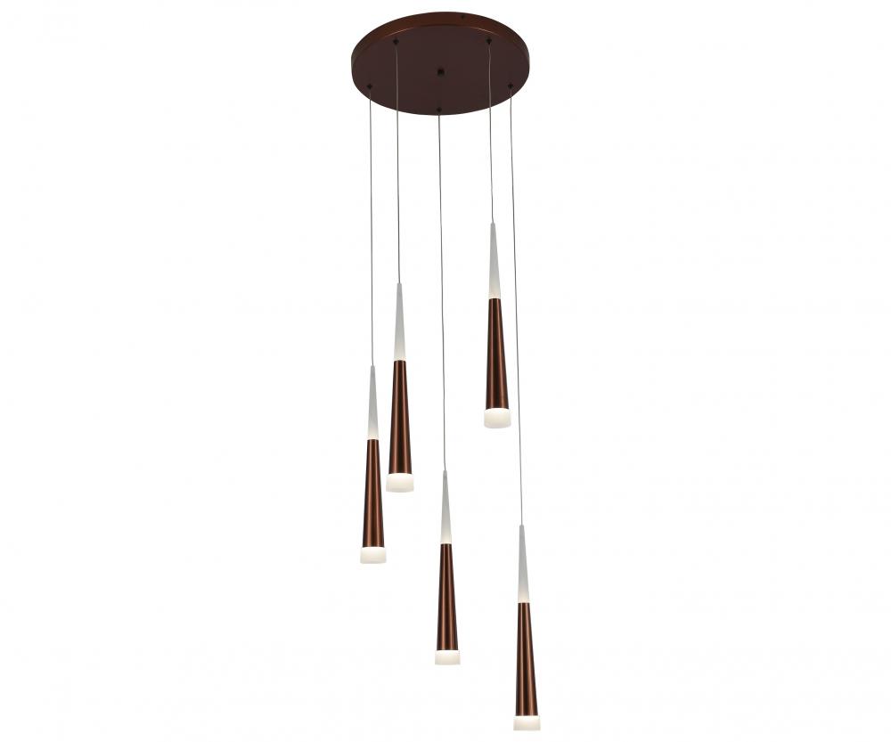 6114-5A,04 Подвесной светильник KINK Light Рэй