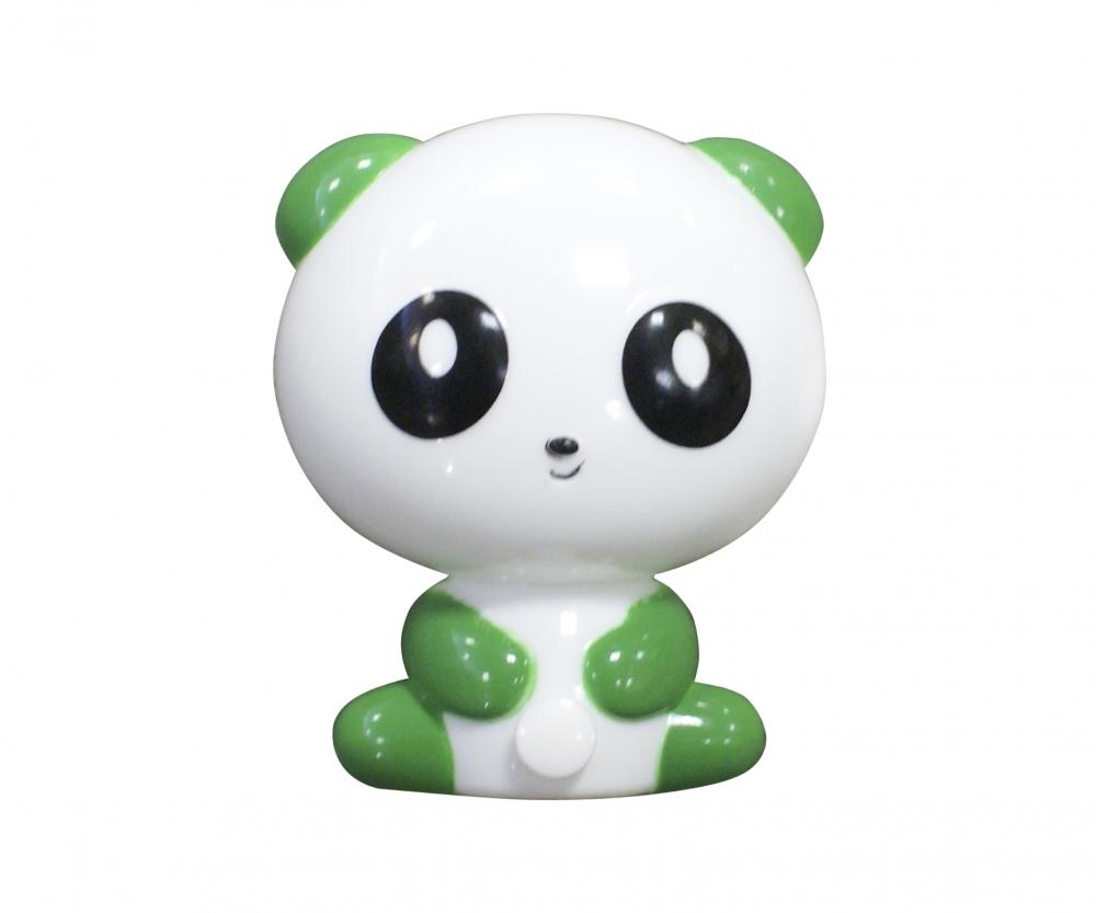 074108,07 Светильник-ночник зеленый Kink Light Панда