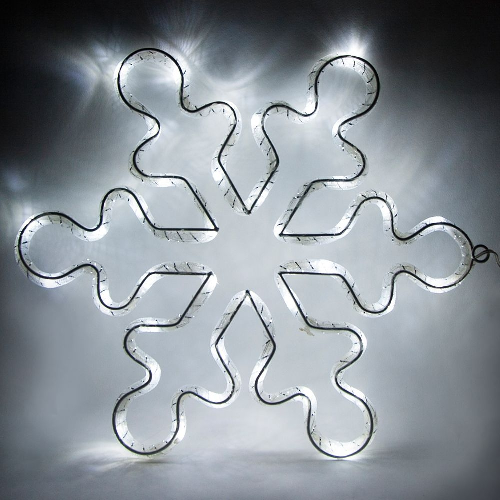 26913 Световая фигура 4,5V, белый цвет свечения, батарейки 3*АА (не входят в комплект) IP20 Feron LT053