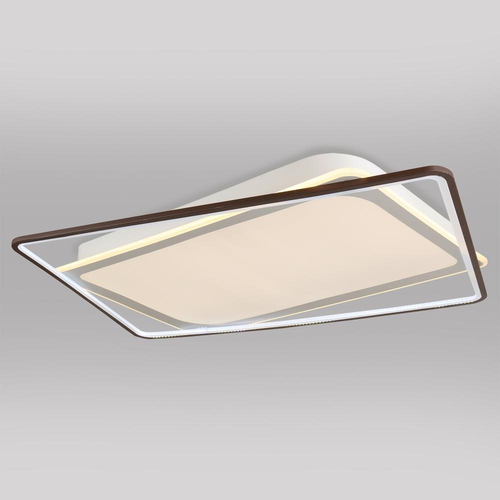 Потолочный светодиодный светильник Eurosvet Shift 90157/2 белый