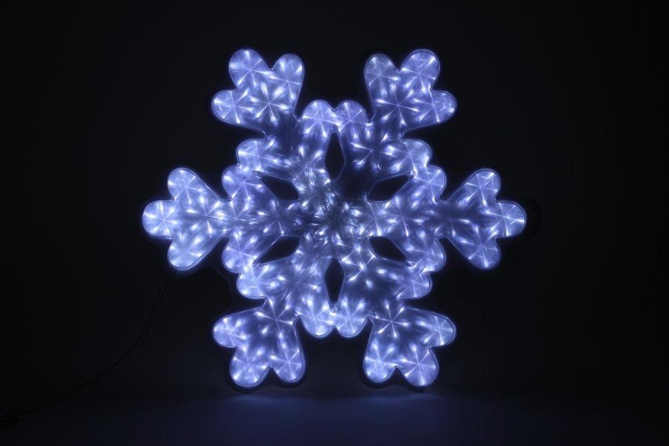 Светодиодная фигура ЭРА снежинка 220V IP44 холодный белый ENIOF-05