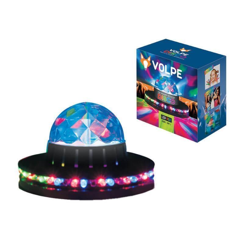 ULI-Q305 3,5W/RGB BLACK Светодиодный светильник-проектор (UL-00000300) Volpe Disko