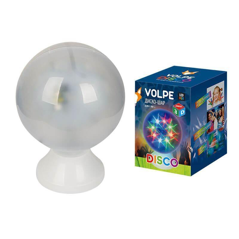 ULI-Q307 4,5W/RGB WHITE Светодиодный светильник-проектор (UL-00001530) Volpe Disko