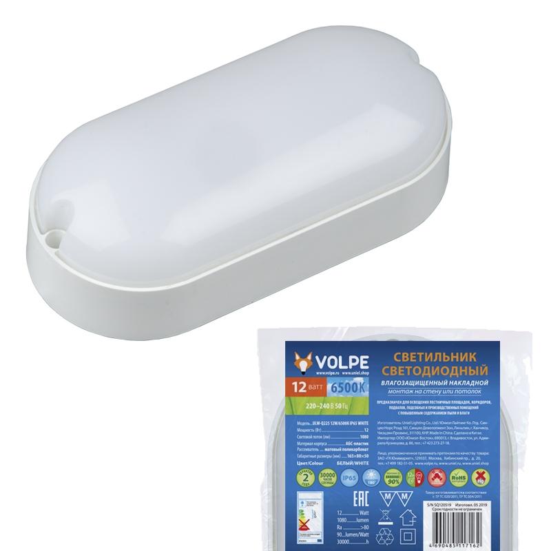 UL-00005135 Уличный светодиодный настенно-потолочный светильник Volpe ULW-Q225