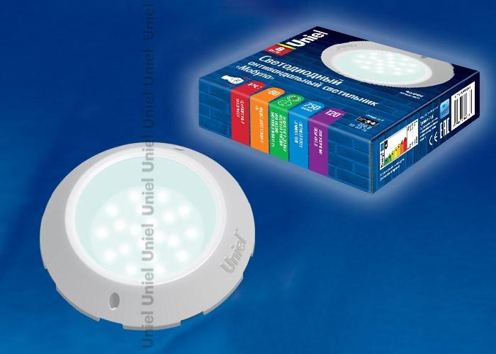 Светодиодный антивандальный светильник Uniel Мобула ULT-V19-8W/NW IP54 WHITE (9416)