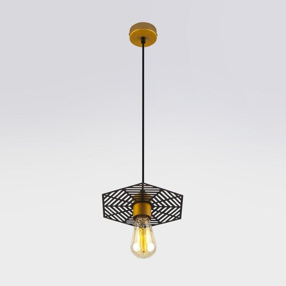 50167/1 бронза/черный Светильник подвесной Eurosvet Creto a045408