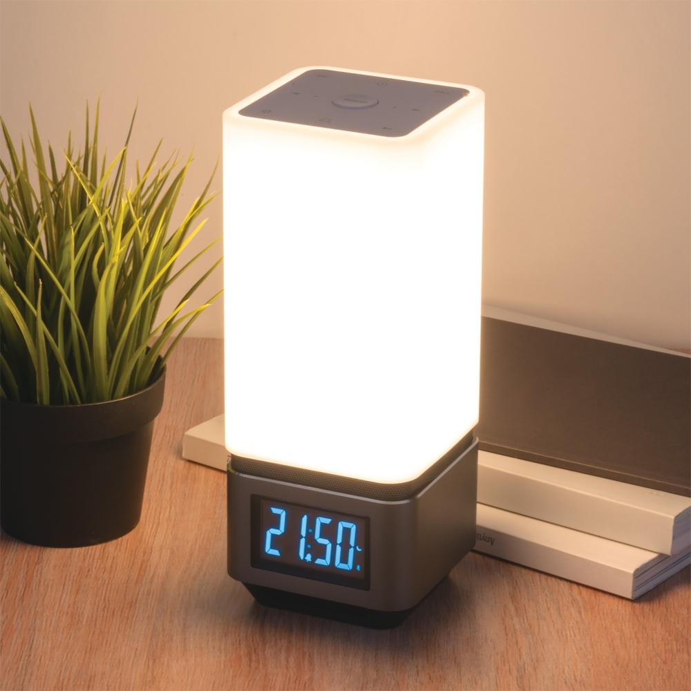 Светодиодная настольная лампа с динамиком Elektrostandard 80418/1 серебристый a045354