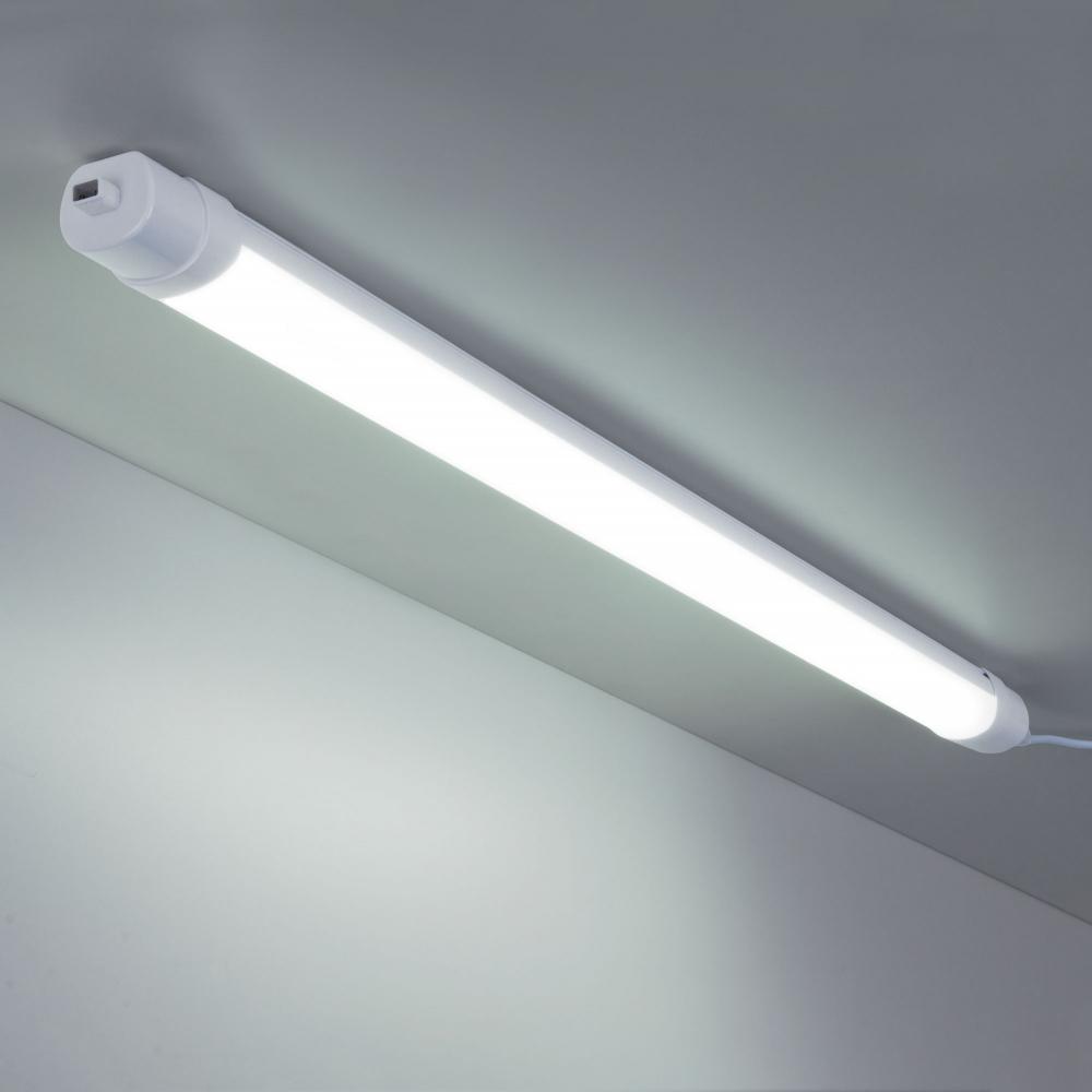 LTB034 белый LED Светильник пылевлагозащищенный светодиодный светильник Elektrostandard Connect 120 см 36Вт a043665
