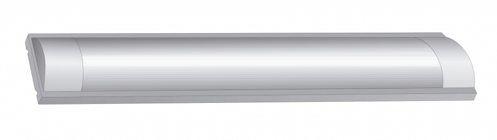 Ultraflash LML-0403-12 C01 (Светодиодный светильник. Корпус под LED 2x18Вт, 220В) 12277