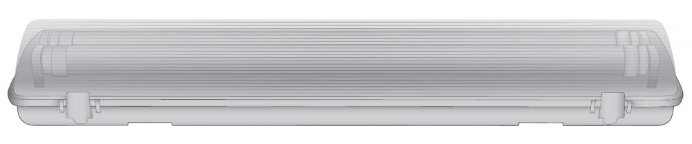 Ultraflash LML-0405-11 C01 (Светодиодный светильник. Корпус под LED 2x9Вт, IP65, 220В) 12280