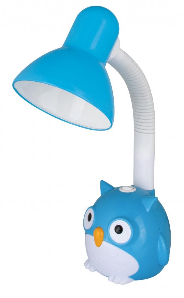 KD-380 ''Сова'' C06 синий Настольный светильник Camelion 12605