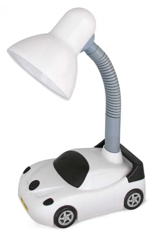 KD-383 ''Машинка'' C01 белый Настольный светильник Camelion 12609