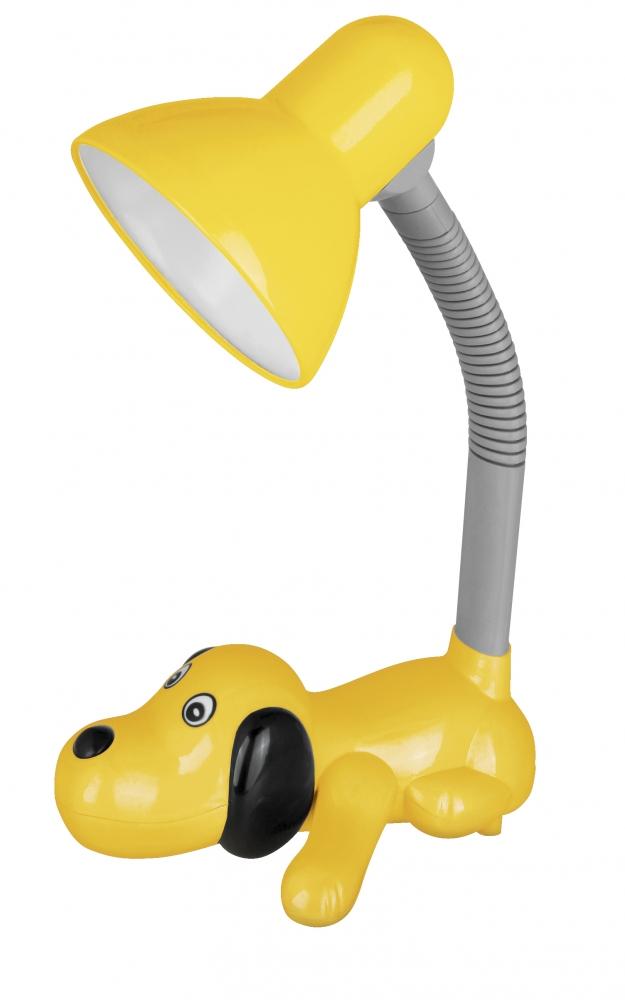 KD-387 ''Собачка'' C07 желтый Настольный светильник Camelion 12887