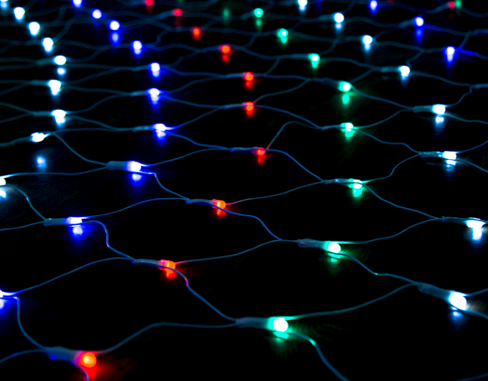 Гирлянда светодиодная 3,50х1,5м. Luxor сетка мультицветная (ВС-680) (1058937)