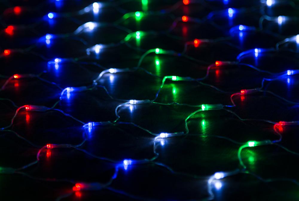 Гирлянда светодиодная 3х1,5м. Luxor сетка мультицветная (ВС-682) (1058939)