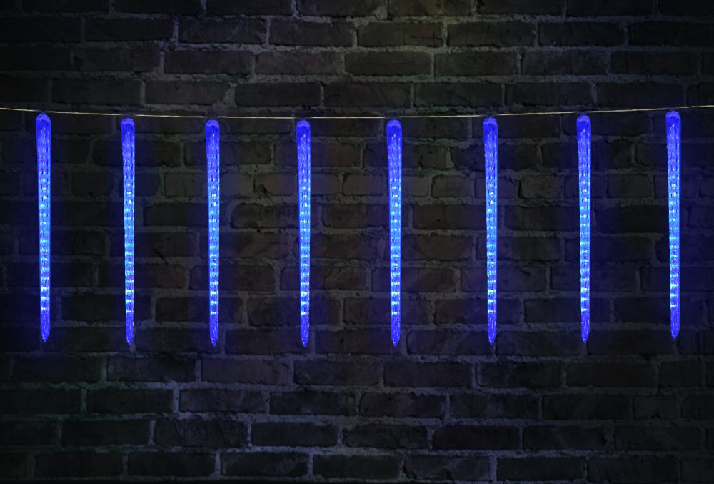 Гирлянда светодиодная уличная, размер 1,90х0,5 м. Luxor сосульки (BC-688) (1058943)
