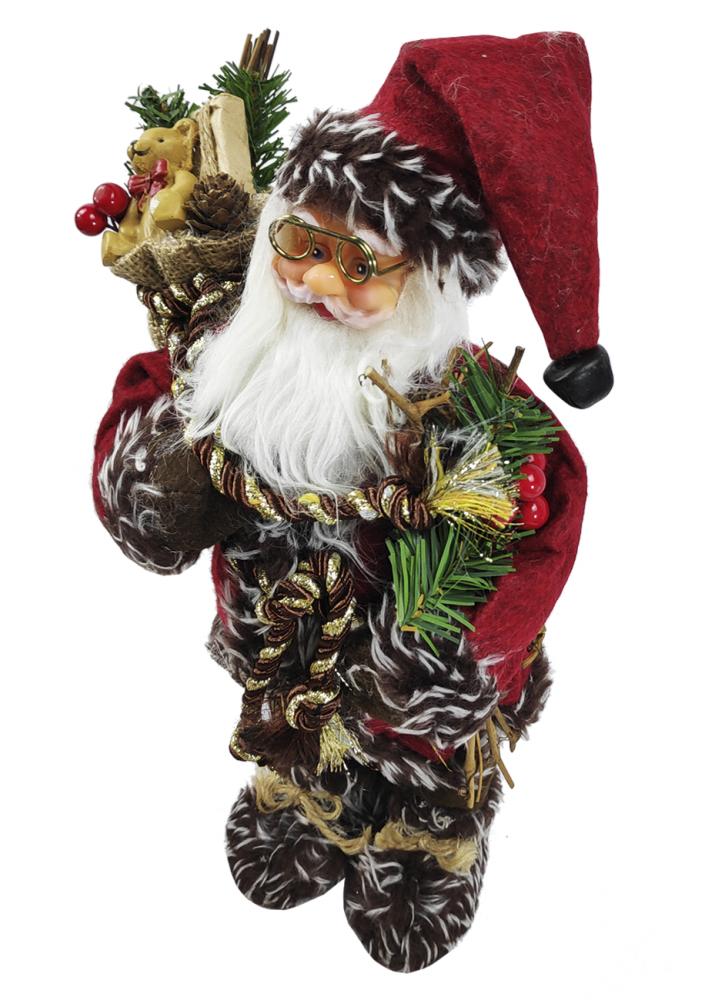 1060692 Дед Мороз по елку SaintNik (9123-1) 0,3м