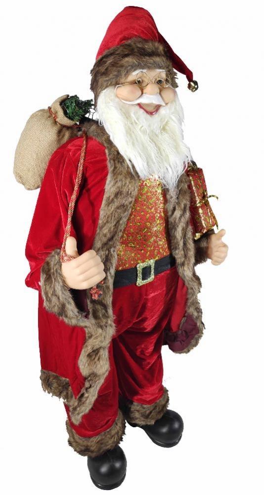 1058967 Дед Мороз под елку SaintNIK (9147-16) 1,3 м