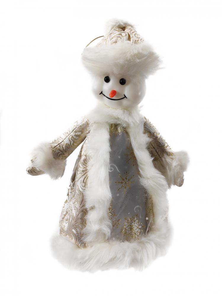1060802 Снеговик под елку SaintNik конфетница (9147-6) 0,35 м