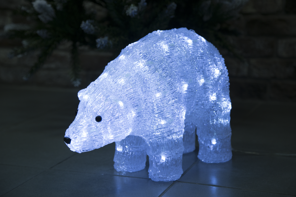 1060792 Светодиодная фигура медведь Luxor уличная (9234-8) 0,30 м
