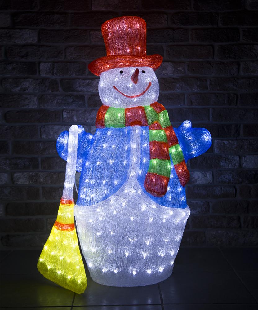 1060782 Светодиодная фигура снеговик Luxor уличная (9234-10) 1 м