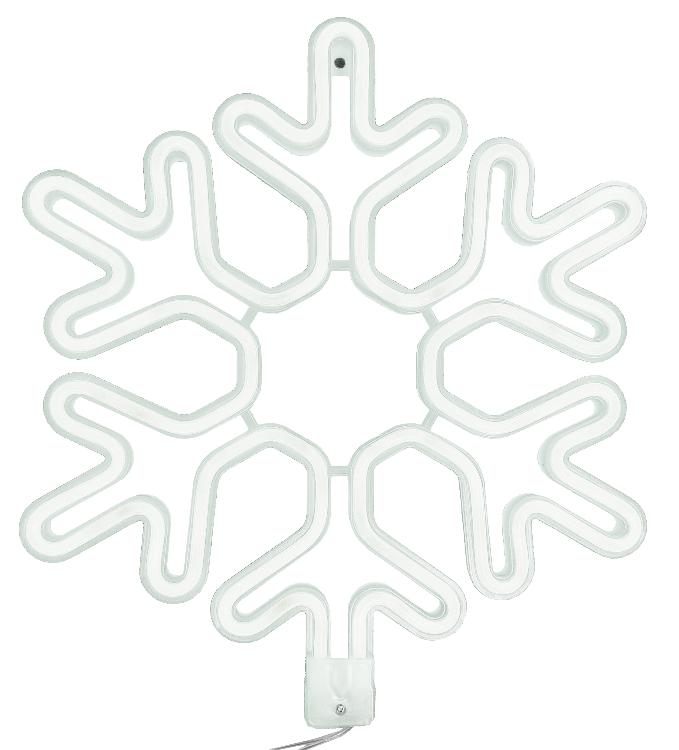 1060779 Светодиодная фигура снежинка Luxor уличная (6059-15) 0,4х0, м