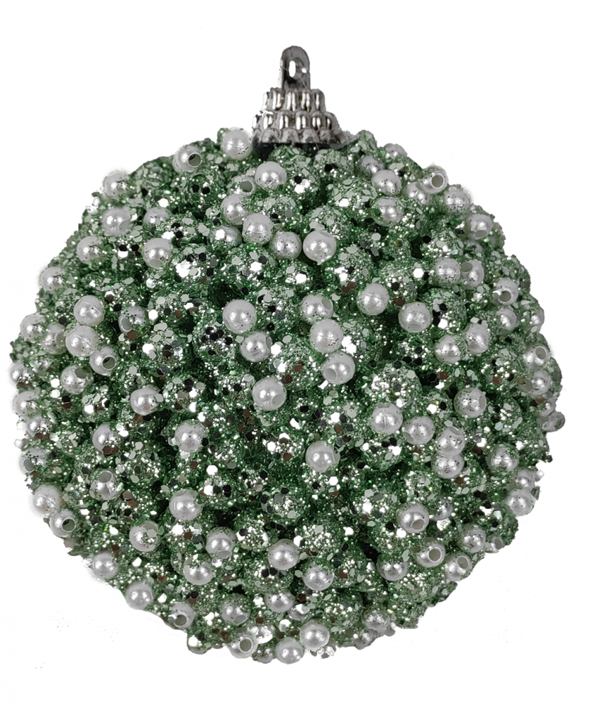 1060742 Ёлочная игрушка Jewel Night BC-581 8 см, 3 штуки