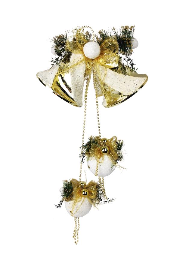 1060759 Новогоднее подвесное украшение Jewel Night (6007-4) 0,75 м