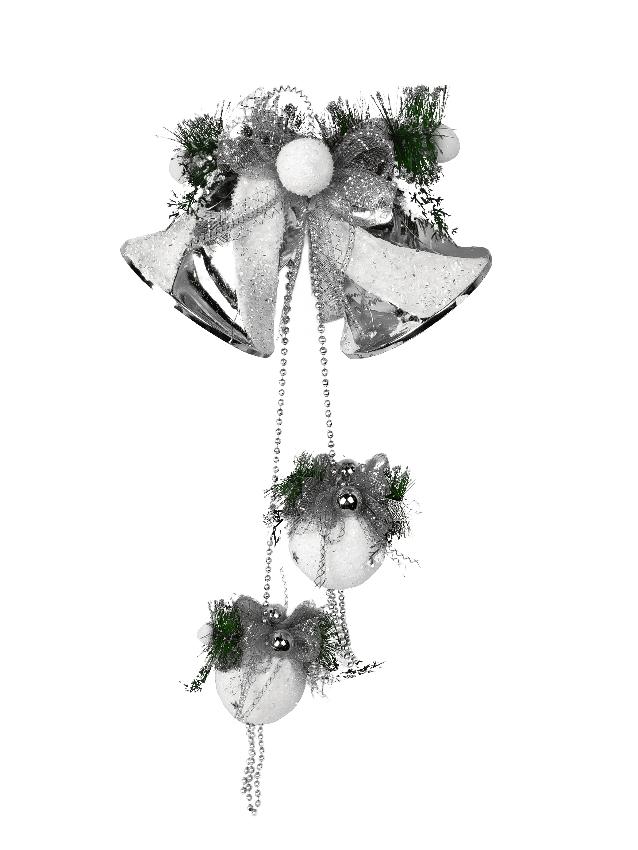1060760 Новогоднее подвесное украшение Jewel Night (6007-5) 0,75 м
