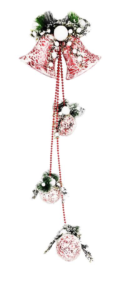 1060763 Новогоднее подвесное украшение Jewel Night (6007-SD-0116) 0,9 м