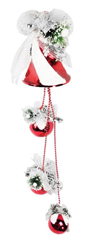 1060764 Новогоднее подвесное украшение Jewel Night (6007-SD-0120) 1 м