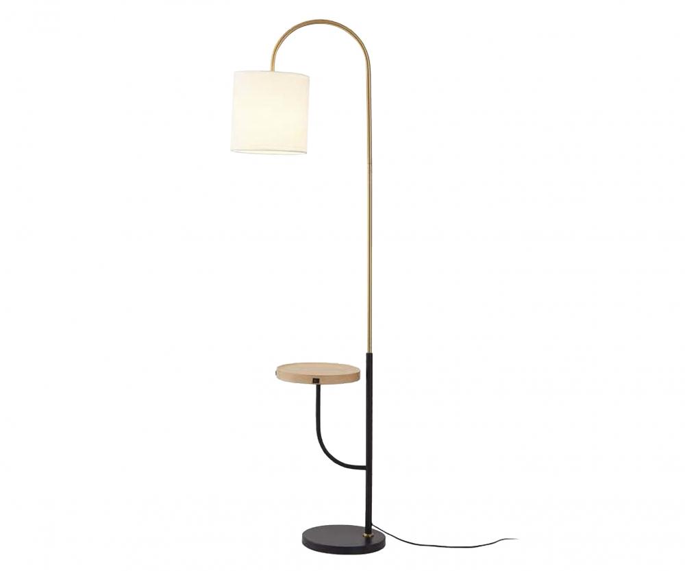07180 Торшер со столиком Kink Light Оттон