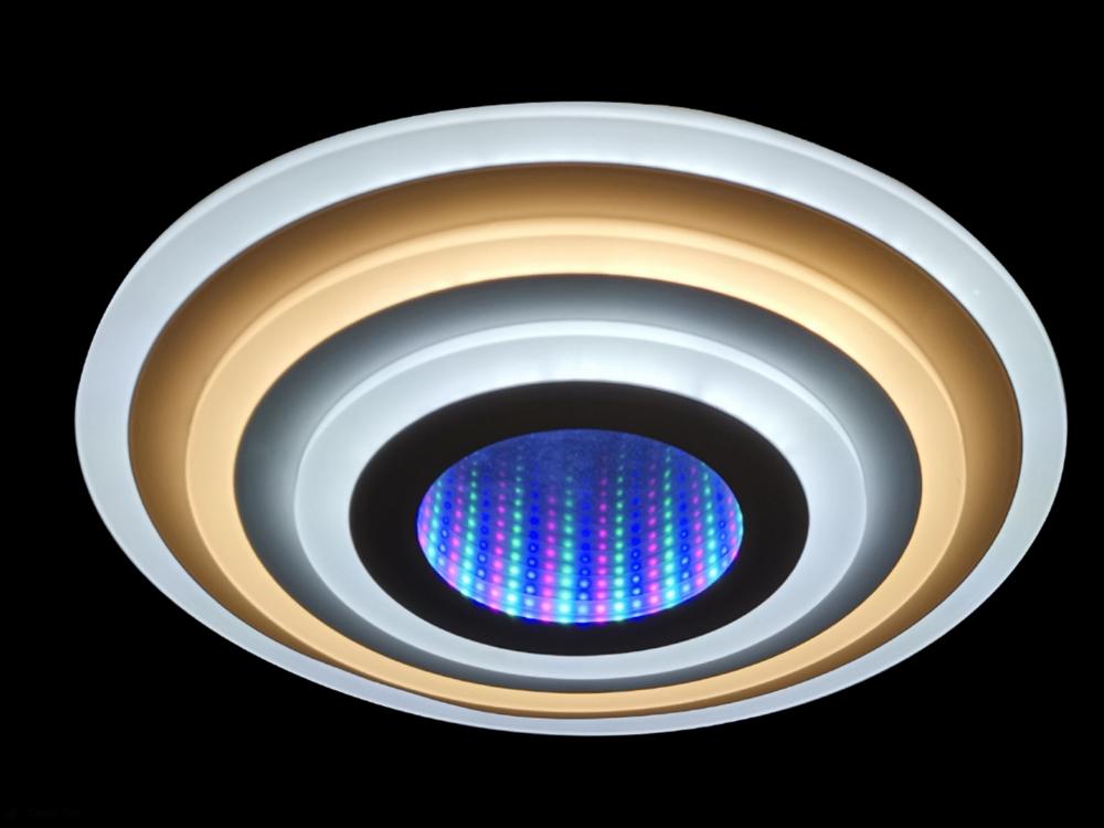 81033/8C Светодиодный потолочный светильник с пультом ДУ Natali Kovaltseva LEDLIGHT