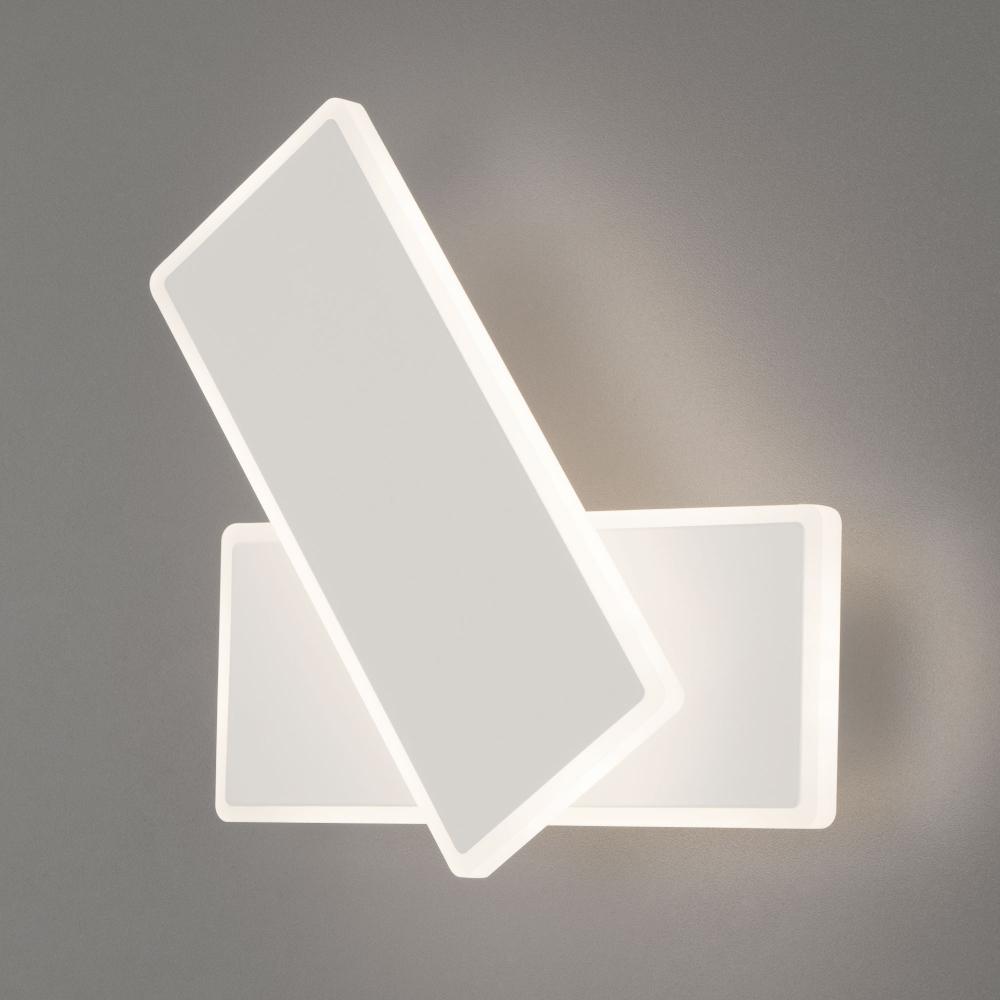 Настенный светодиодный светильник 90316/2 белый 18W a045468