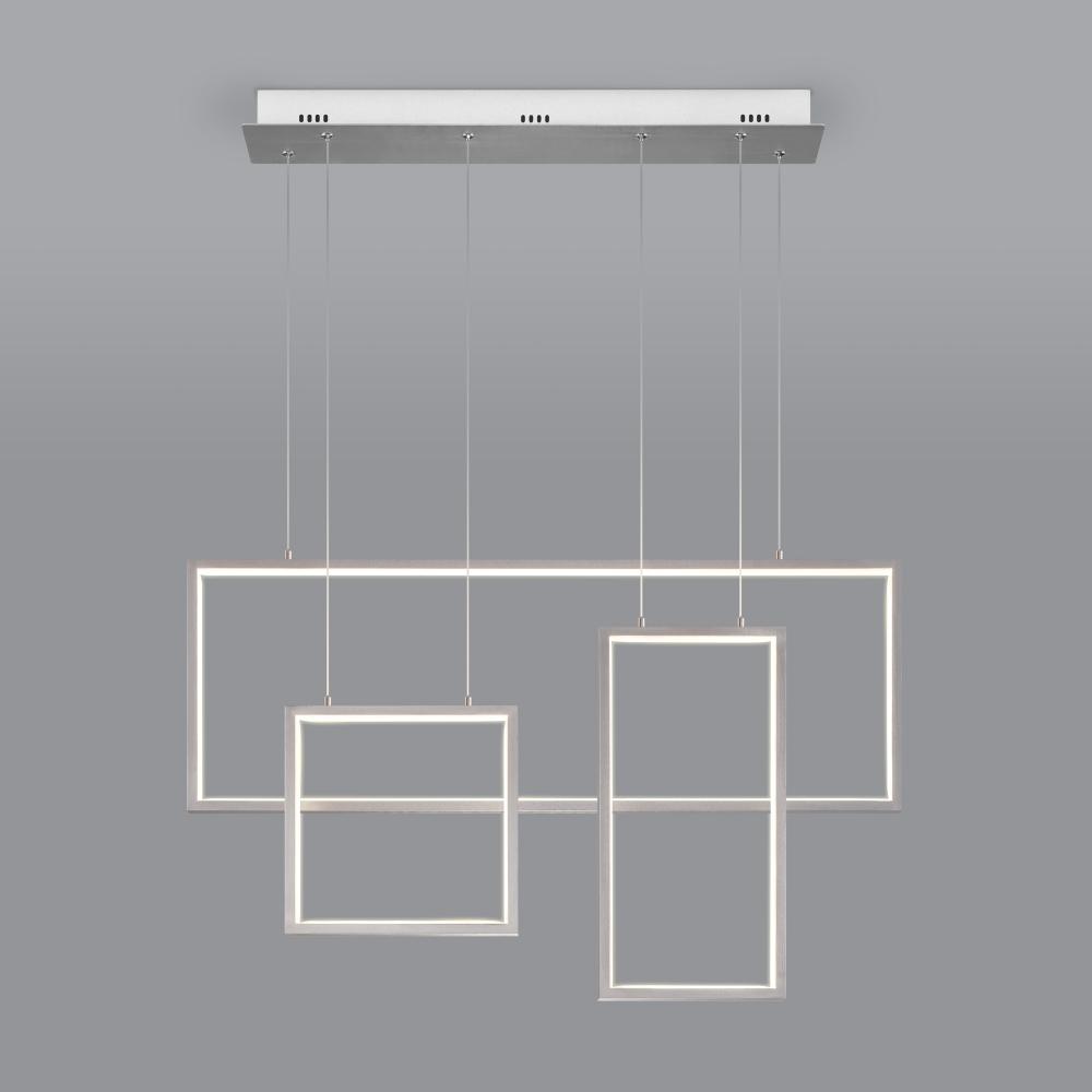 Подвесной светильник Eurosvet 90178/3 сатин-никель