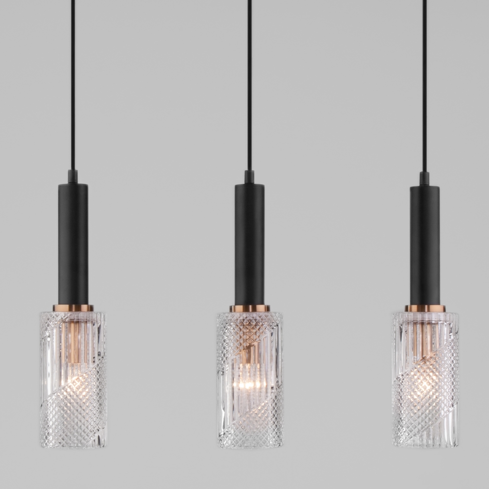 Подвесной светильник Eurosvet 50176/3 черный
