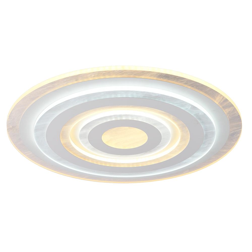 Светодиодная диммируемая люстра с пультом Profit Light 18059 WHT WHT 148W