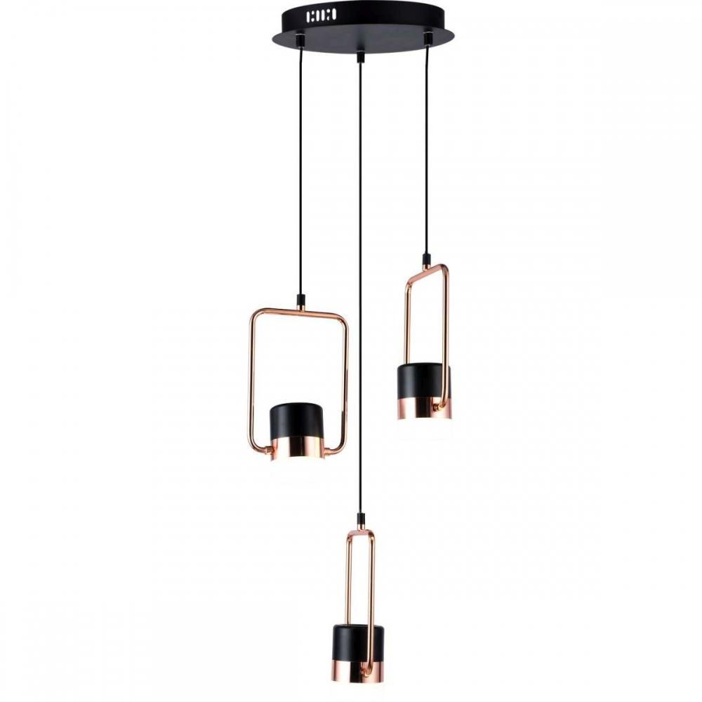 Светильник подвесной светодиодный Elegante Stilfort 2045/02/03P