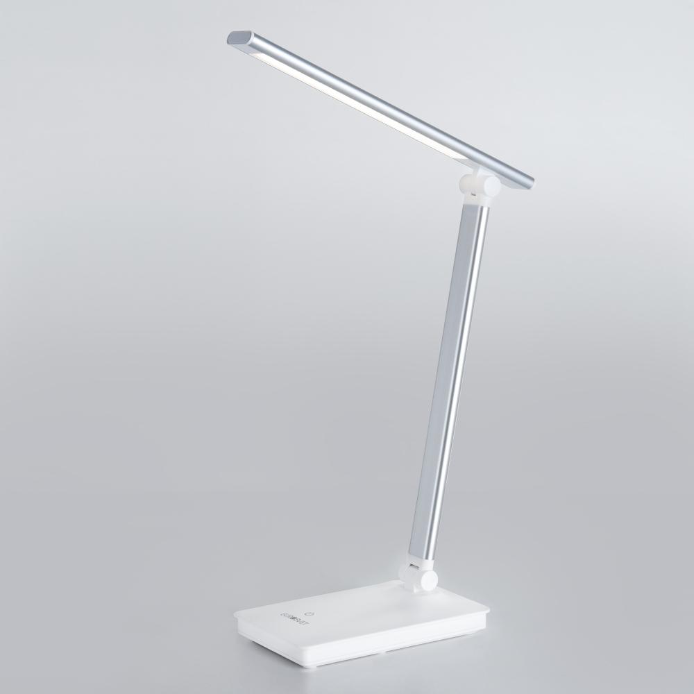 Светодиодная настольная лампа с сенсорным управлением Евросвет Brooklyn 80423/1 серебристый a045362