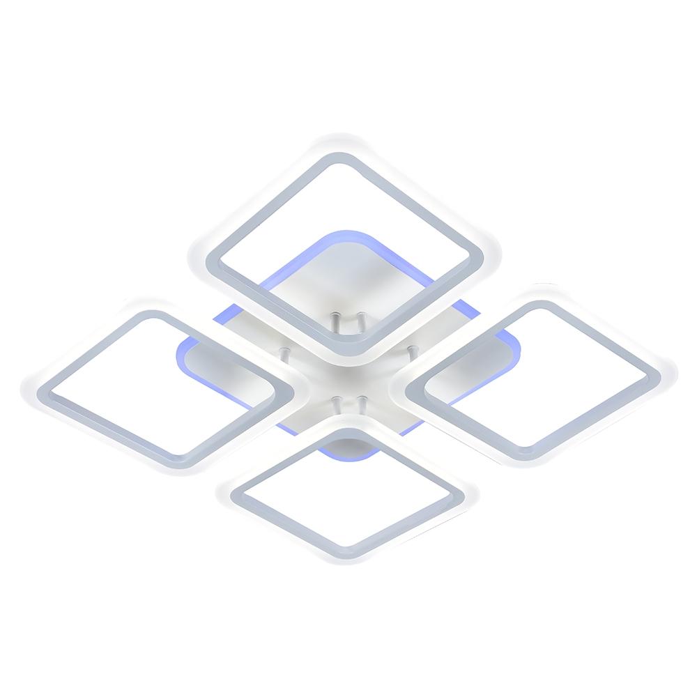Светодиодная диммируемая люстра с пультом Profit Light 1375/4 WHT 120W RGB