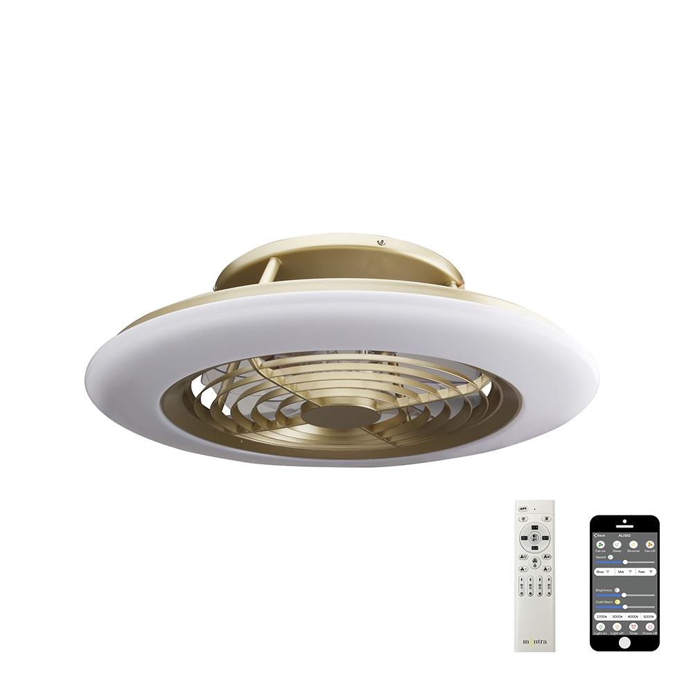 Светодиодная люстра-вентилятор Mantra Alisio 6707