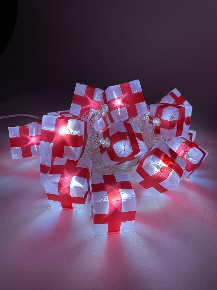 Гирлянда LED Нить Подарки 3м холодный свет, 220V, IP20 Эра Б0041895 (ENIN-3P )