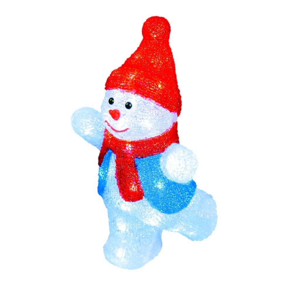 11030 Фигура светодиодная Снеговик Uniel (ULD-M2234-040-STA)
